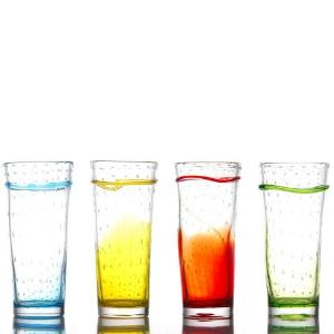 verres hanoï - Artisanal- verres à cocktail, eau, jus de fruits - Mondo Déco