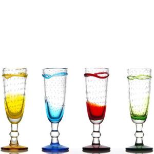 verres Alaska - verre à pied artisanal - champ, cocktails - Mondo Déco