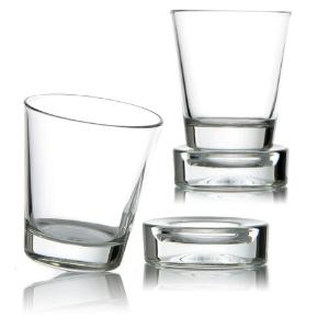 Sets verres Culbuto pour vos apéritifs - verre déséquilibré vendu avec sa base stabilisatrice - Mondo Déco
