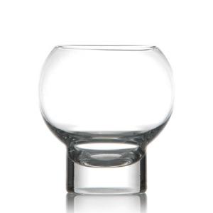 Verres Chamonix, bulle de verre, verre rond, sphère, pour glace et cocktail- Mondo Déco