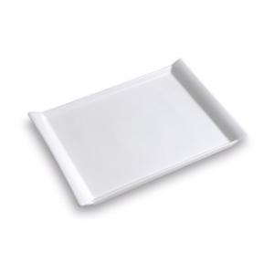 Assiette plateau blanche, petit modèle - Mondo Déco