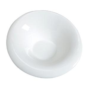 Assiette Arum, creuse et blanche - Mondo Déco