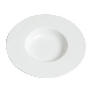 Assiettes Pasta, assiette creuse, blanche - Mondo Déco
