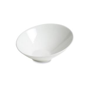 Assiette Recife petit modèle, creuse blanche - Mondo Déco
