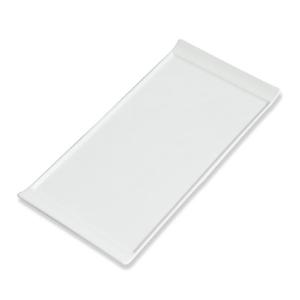 Assiette Lift plate blanche, petit modèle - Mondo Déco