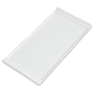 Assiette Lift plate blanche, grand modèle - Mondo Déco