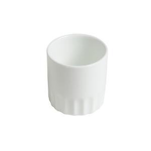 Verrine Toque, petit récipient blanc - Mondo Déco