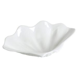 Assiette coquillage, creuse blanche - Mondo Déco