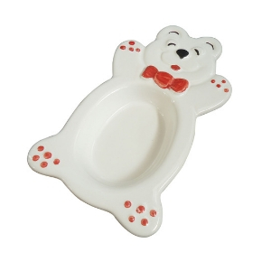 Coupe Ours Blanc, coupe à glace, assiette creuse pour enfant - Mondo Déco