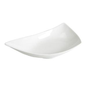 Assiette Jonque, creuse et blanche - Mondo Déco