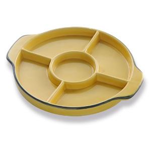 Assiettes 5 compartiments, assiette compartimentée, assiette à tapas - Mondo Déco