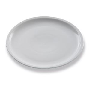 Assiette Carpaccio, assiette plate, blanche - Mondo Déco