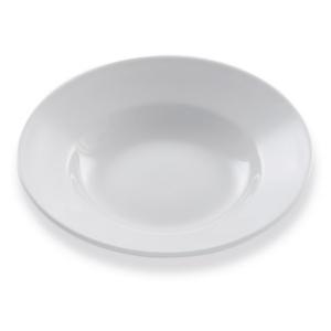 Assiettes Minestrone, assiette creuse blanche - Mondo Déco