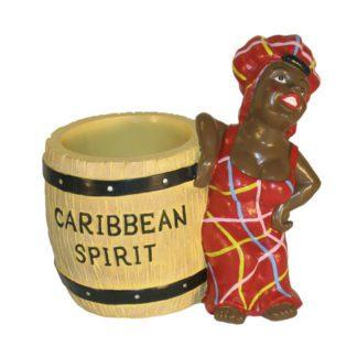 Porte-verres Carribbean spirit - décoration cocktails - mondo déco