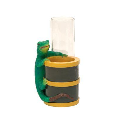 Mini porte-verres Iguane - décoration cocktail - mondo déco
