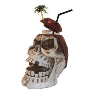 porte-verres crâne - décor pour cocktail - vintage - mondo déco