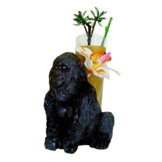 Mini porte-verres Gorille - décoration cocktail - mondo déco