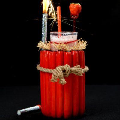 Porte-verres Dynamite - décoration cocktails - mondo déco