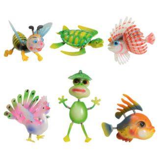 Magnet Animaux pm - sauterelles - Abeilles - grenouille - poissons - Sa - décors glaces et cocktails et pâtisseries - mondo déco