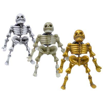 Magnets Assortiment Squelettes - décors glaces et cocktails et pâtisseries - mondo déco