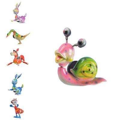 Magnets Animaux de la Campagne - décoration glaces, cocktails et pâtisseries - mondo déco