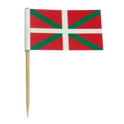 Drapeaux Basque - Décors pour glaces et cocktails - Mondo Déco