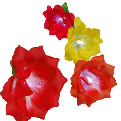 Broches Fleurs Lumineuse - décors cocktails et glaces - Mondo Déco