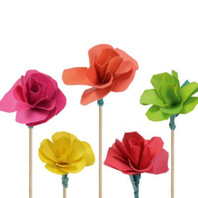 Fleur bois - Décors pour glaces et cocktails - mondo déco