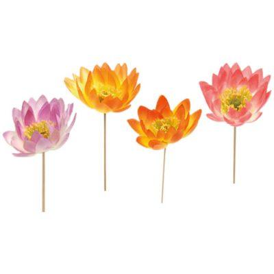 Fleurs de Lotus - décors pour glaces et cocktails - mondo déco