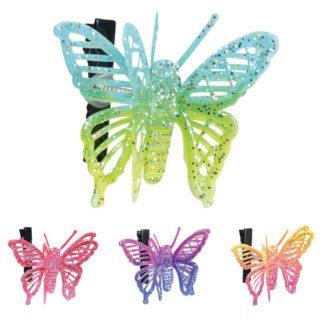Papillons sur Pince - Décors Glaces et Cocktails - Mondo Déco