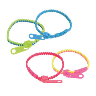 Bracelets Zip - Cadeau menu enfant - Mondo Déco -
