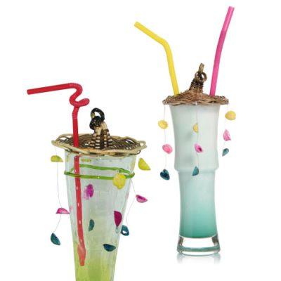 Chapeau Coquillages - Décors pour glaces et cocktails - mondo déco