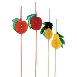 Pailles Fruit GM - Décors glaces et cocktails - mondo déco