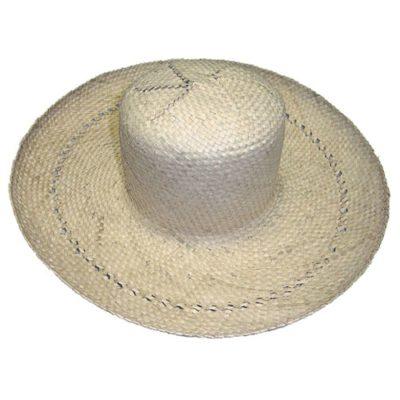 Chapeau Tressé - chapeau taille adulte - mondo déco