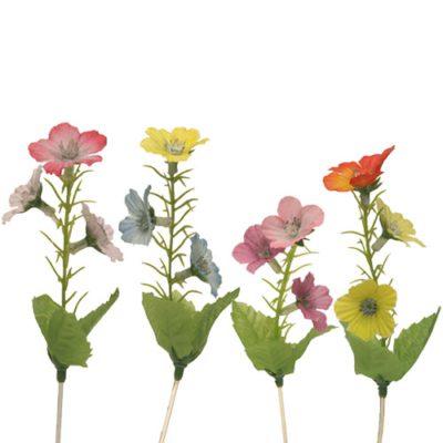 Fleurs de prairie - décors pour glaces et cocktails - Mondo déco
