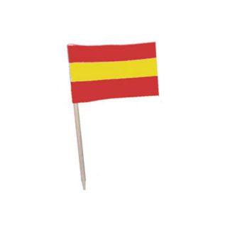 Drapeaux Espagne - Drapeaux Espagnols - Décors pour glaces et cocktails - mondo déco