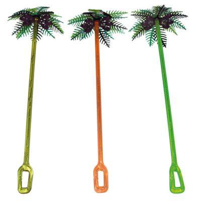Mélangeurs Palmiers Coco - Décors pour glaces et cocktails - mondo déco